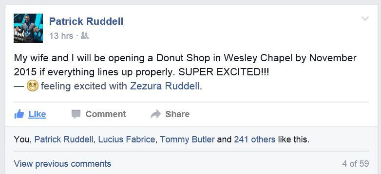 ChefPatrick - Patrick Ruddell - Donuts