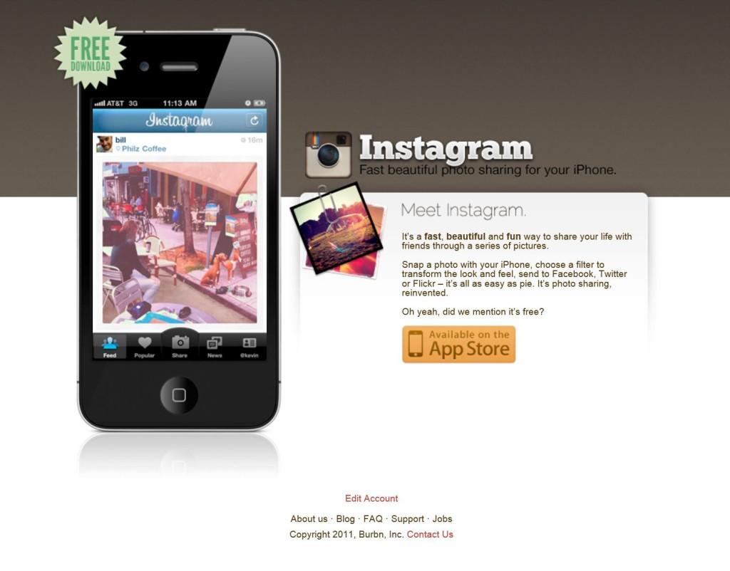 Instagram.com - Sept 2011