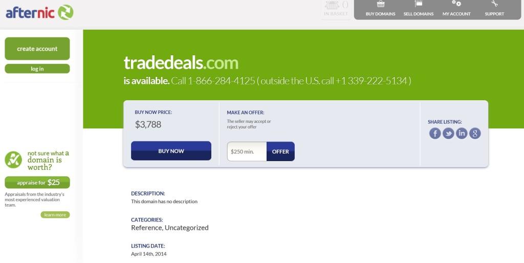 TradeDeals Dot Com