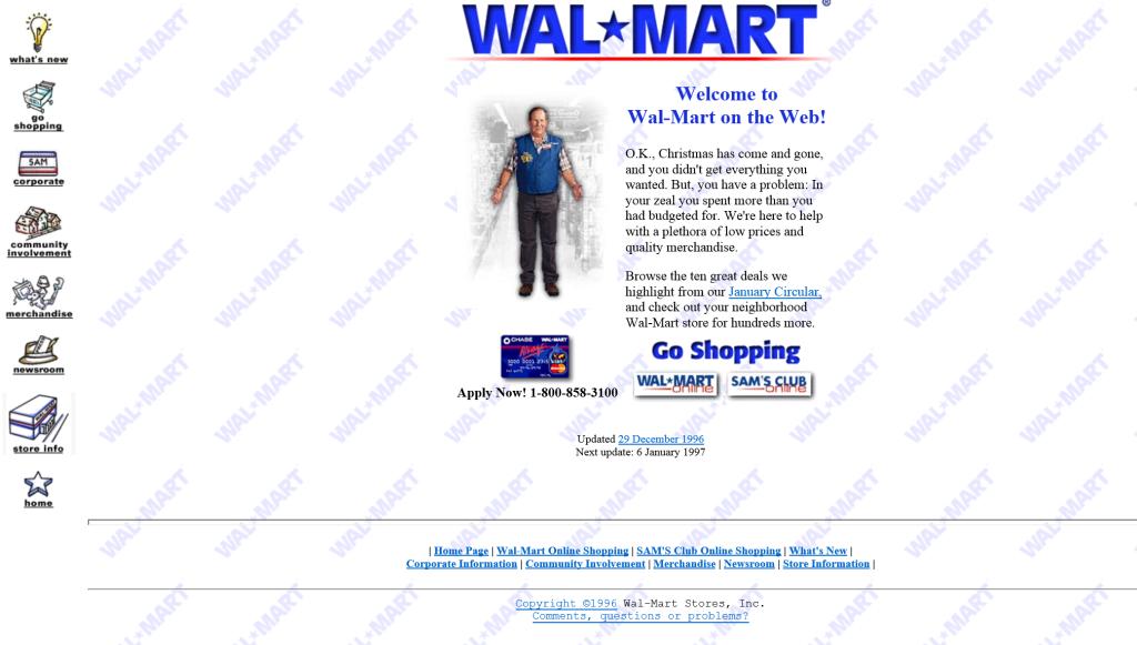 Wal-Mart.com 1996