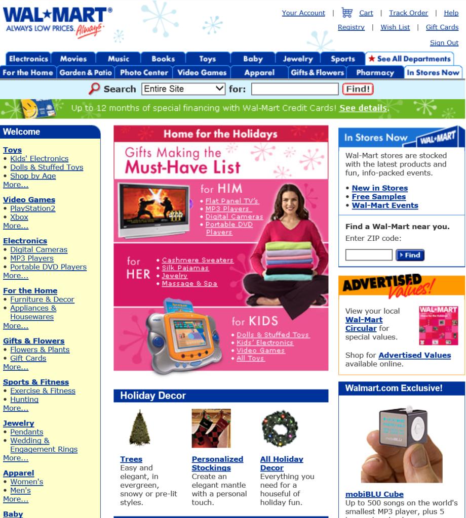 Walmart.com 2005