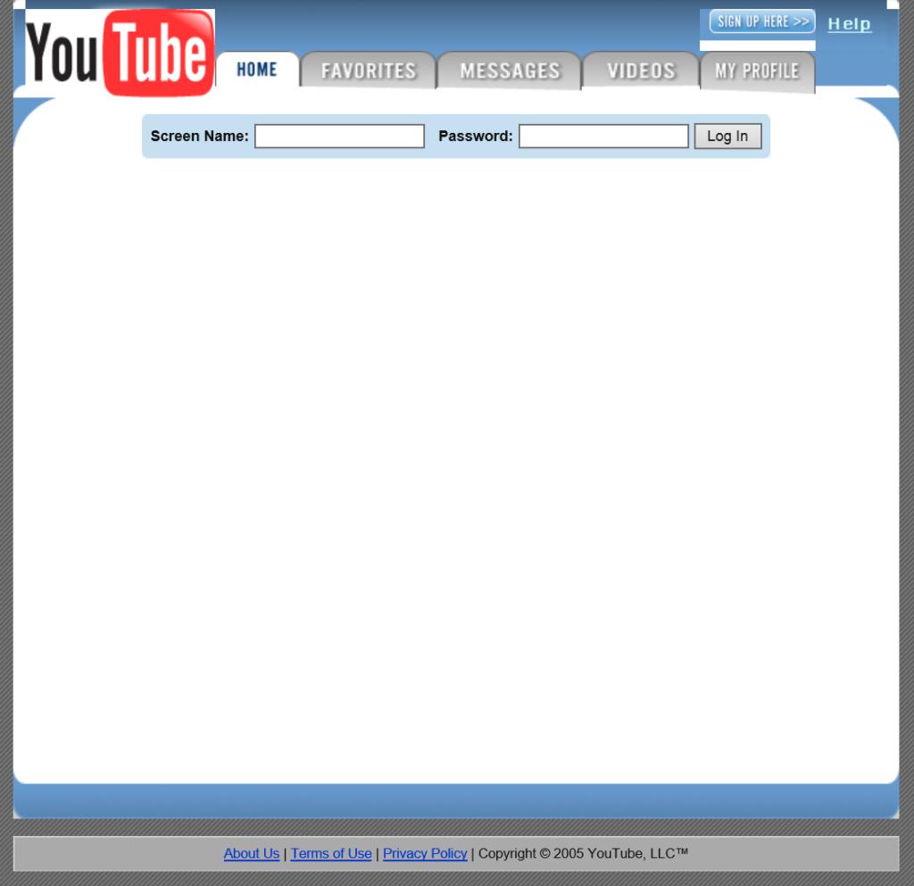 YouTube.com 2005