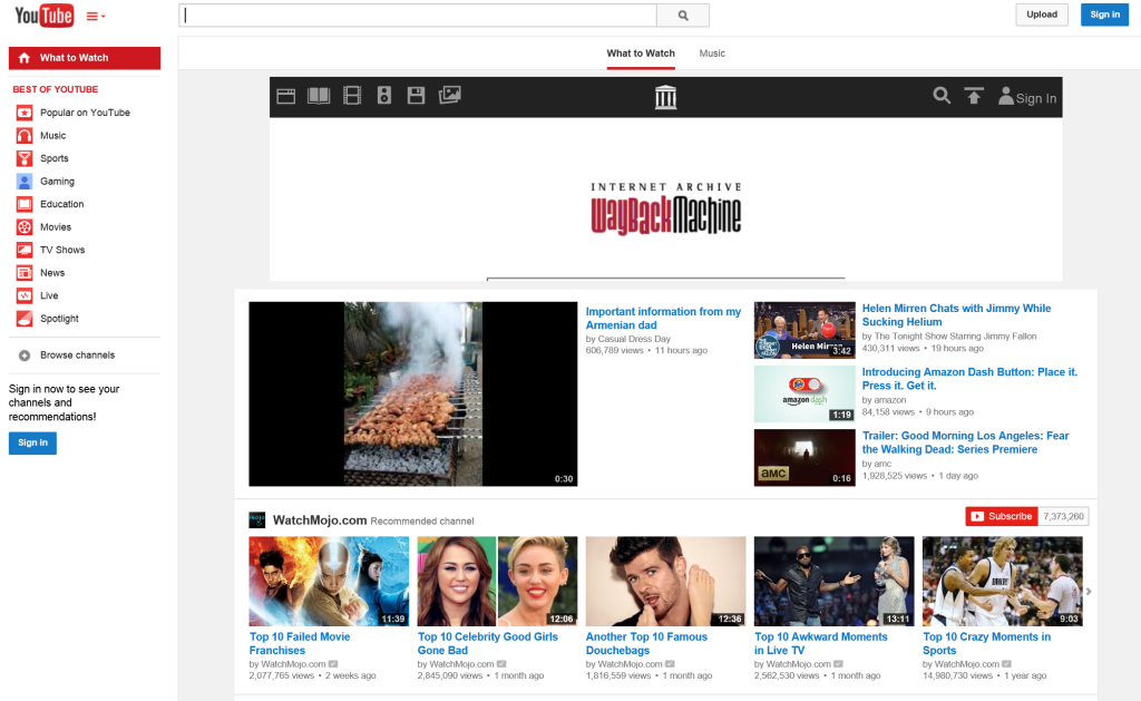 YouTube.com 2015