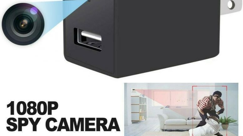Mini Spy Cam - Wall Socket (Plug) Spy Camera