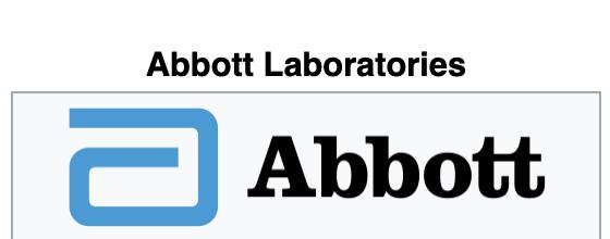 Abbott Laboratories Websites