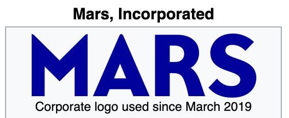 Mars Family Websites