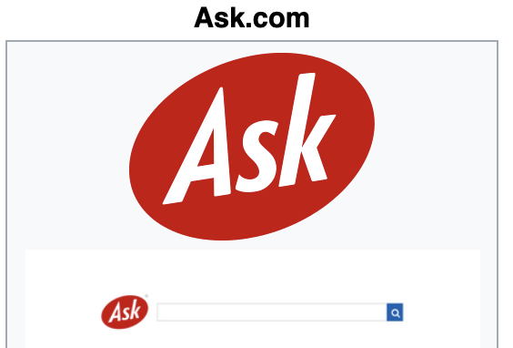 Ask.com Websites