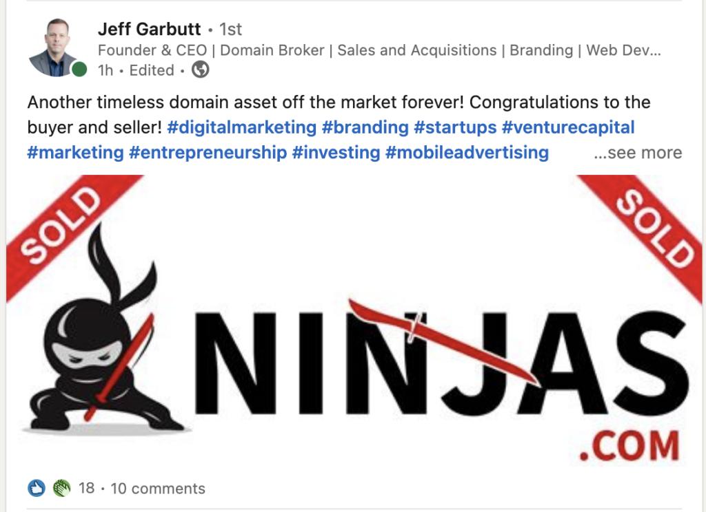 Ninjas Domain Name