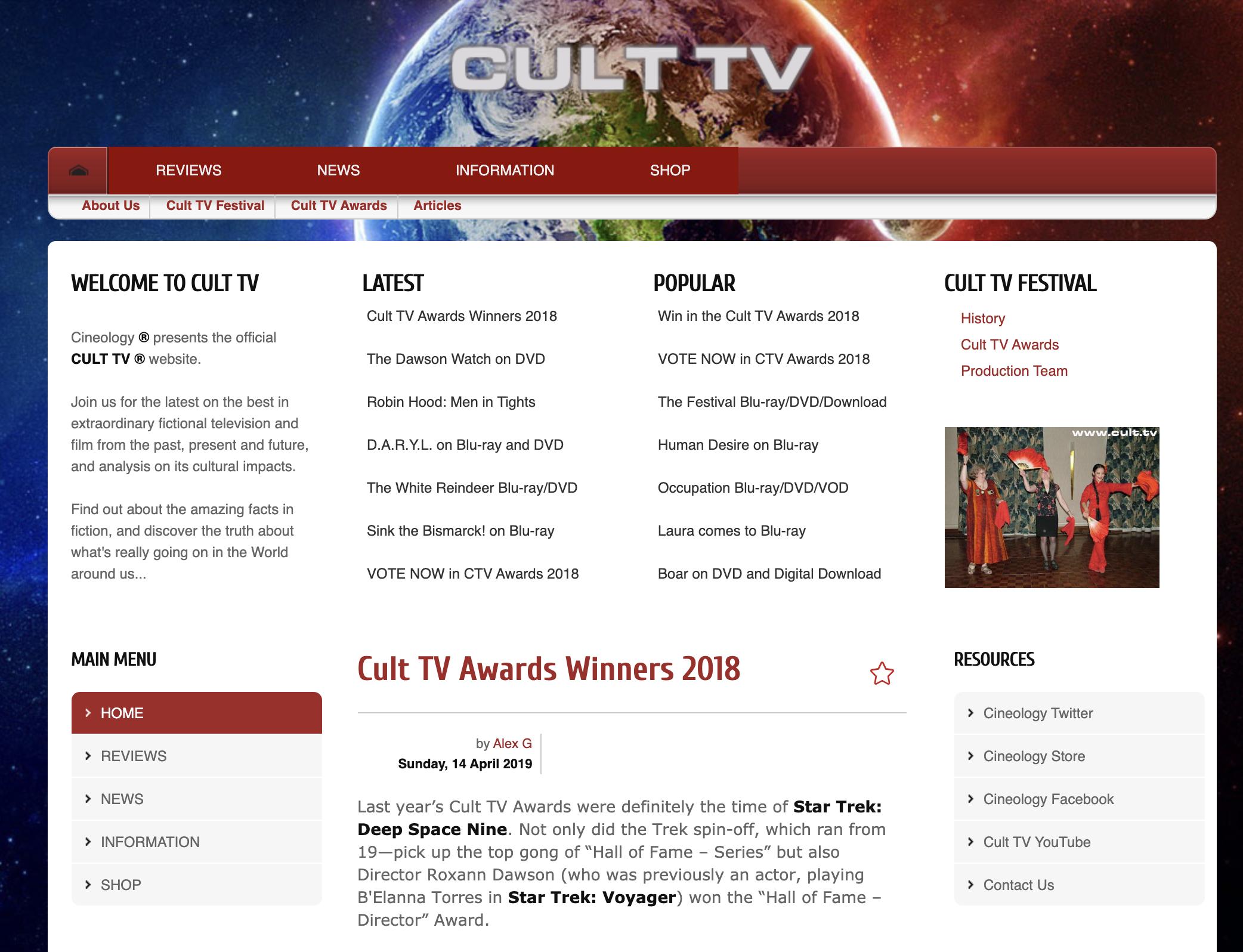 Rick Schwartz Cult TV Domain