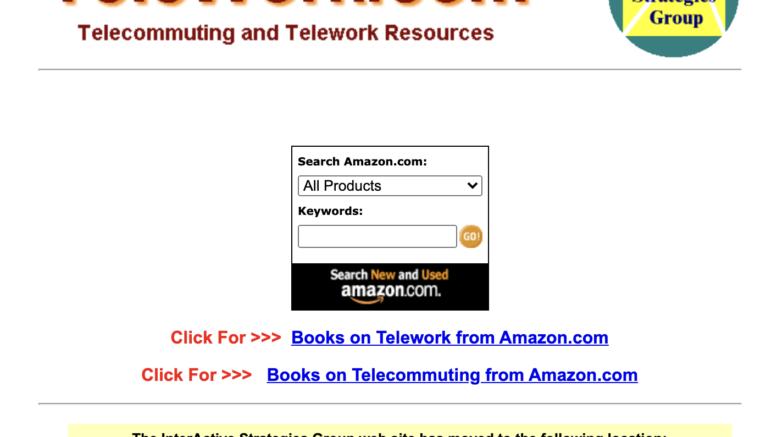 Telework - InterActive Strategies Group