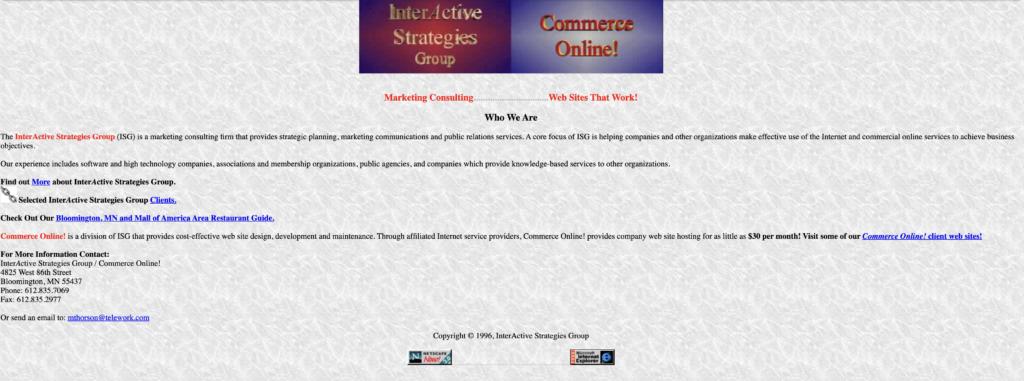 InterActive Strategies Group Website