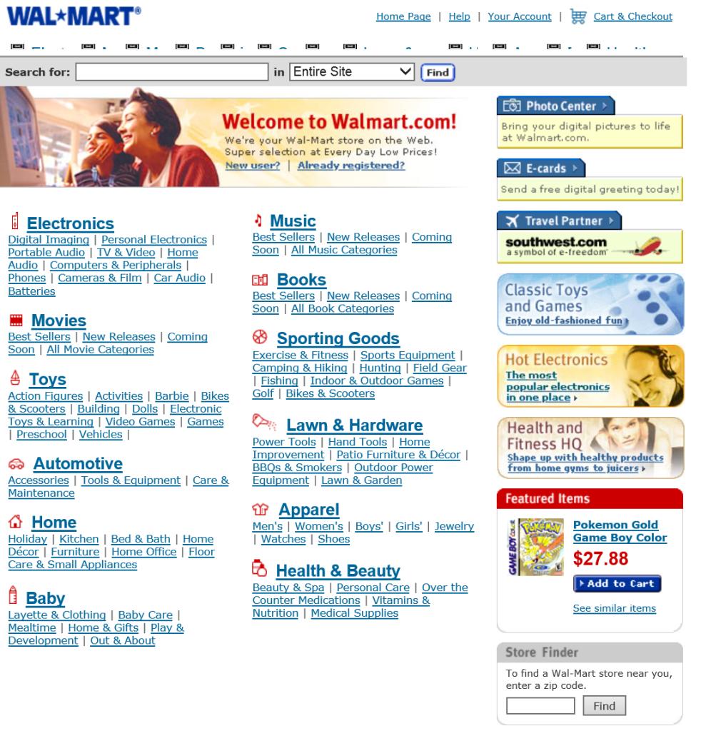 Walmart.com 2000