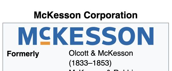McKesson Corporation Websites