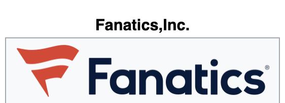 Fanatics Website