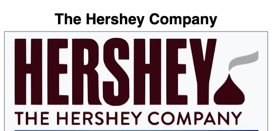 The Hershey Company Websites