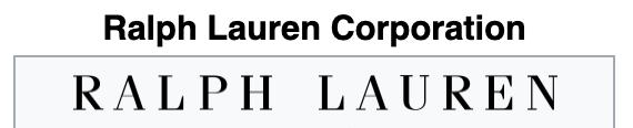 Ralph Lauren Websites