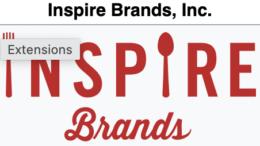 Inspire Brands Websites